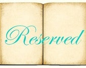 Reserved for Julie - 60 Custom Miniature Book Charms