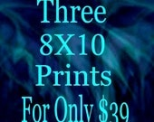 """ART PRINT GICLEE Prints 8"""" x 10"""" Three Prints For Thirty Nine Dollars Of Any Original Painting By Leslie Allen Fine Art"""
