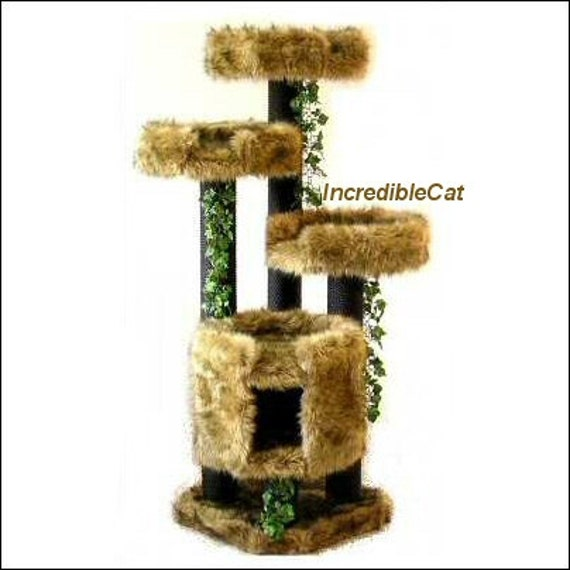 Creative Cat Towers: UNIQUE Cat FURNITURE Trees Best Cat Beds Designer By