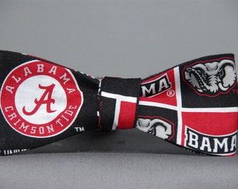 Alabama Crimson Tide  Bow tie