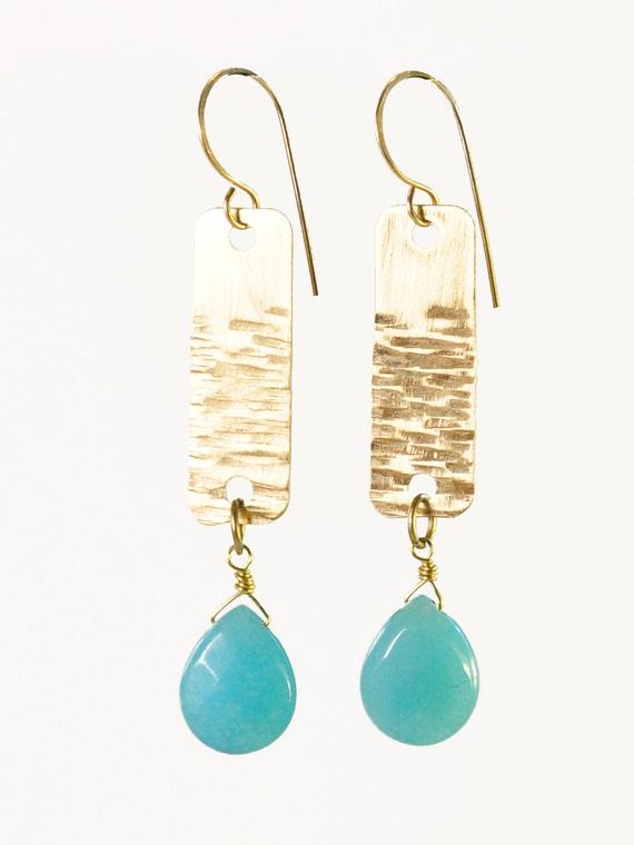 Ocean Strip Earrings