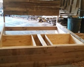 YOUR Made to Order Rustic and Recliamed Barn Wood Headboard FREE SHIPPING - BWH15