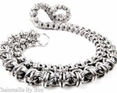 Chainmaille Necklace - Fitted Byzantine