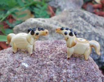 Horse Glass Beads