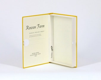 Hollow book safe / Vintage US. book / Secret box /  'Rowan Farm'