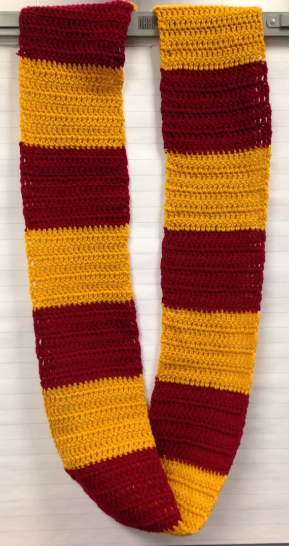 Gryffindor Inspired Infinity Scarf