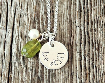 Be Still Necklace, Calm the Storm Necklace, Inspirational Jewelry, Affirmation Necklace, Christian Jewelry