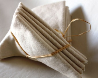 Extra Soft Organic Cotton Baby Wipes - Set of 5