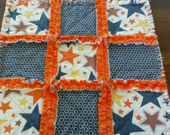 Super Star Security Blanket / Raggedy Quilt