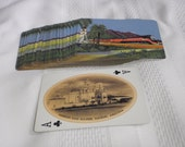 Railroad Collectable Cards From 1950s Featuring 52 Different Views Of The Southern States