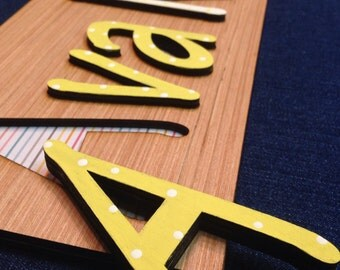 Name Puzzles: Custom Wooden Toy