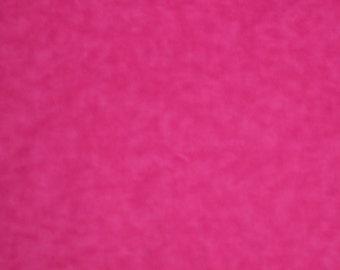 Hot Pink 5003 Hot Pink Blender Cotton Flannel Fabric