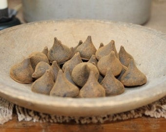 Blackened Beeswax Kisses Bowl Fillers  #107