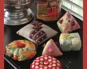 Pieced Pincushions by Susan Gower for Indygo Junction