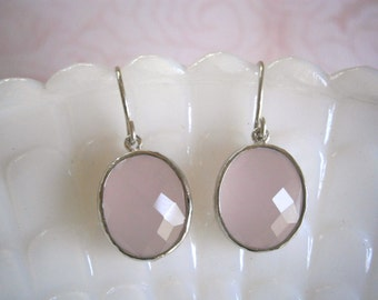Clearance Sale, Jewelry Sale, Blush Pink Earrings, Pink Earrings, Silver Earrings, Best Friend, Wife, Sister
