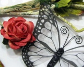 Glass Butterfly Embellishments G12