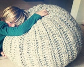 Sea Urchin POUF - crochet pattern - PDF