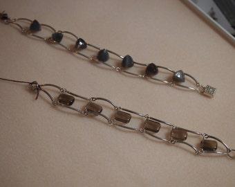 Sterling Ladder Bracelet