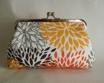 Floral Clutch - Wedding Clutch - Sunburst Clutch Purse -Wedding Gifts - Bridesmaids Purse - Victoria