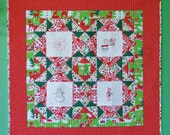 Christmas Quilt PDF Sewing Pattern