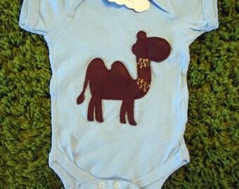 Gorgeous Camel Infant Bodysuit