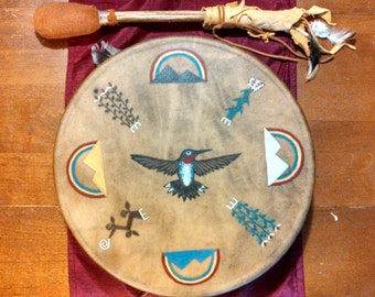 14 inch Made To Order Hand Drum & Beater