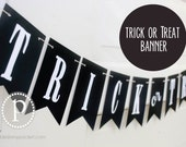 Pre-Made Trick or Treat Banner (4.5')
