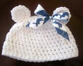 Detroit Lions baby hat