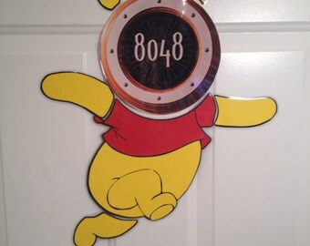 Winnie the Pooh Body Part Stateroom Door Magnets for Disney Cruise