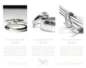 Minimalist product Catalog or Line sheet- Wedding Bells design, 4 pages