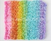 Mini Rainbow Blanket (Bright) Photography Prop