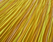 Recycled T shirt Yarn Strips-Mixed Yellows - Rt925