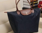New Women Celebirty like Synthetic Leather Handle Tote Shopping Shoulder Handbag