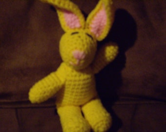 Easter Bunny--yellow