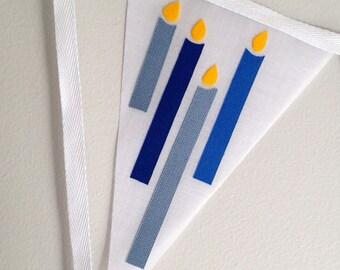 Happy Chanukah Bunting Banner