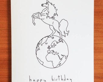 Happy Birthday- Handmade Card
