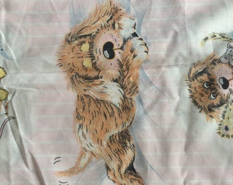 Sue Hall FULL FLAT Sheet - Reclaimed Bed Linens