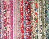 Liberty of London Tana Lawn Fabric Charm Pack, 40 piece pack  -  AUSTRALIA