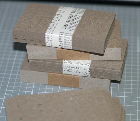Chipboard business card blanks 100 lightweight chipboard for Chipboard business cards