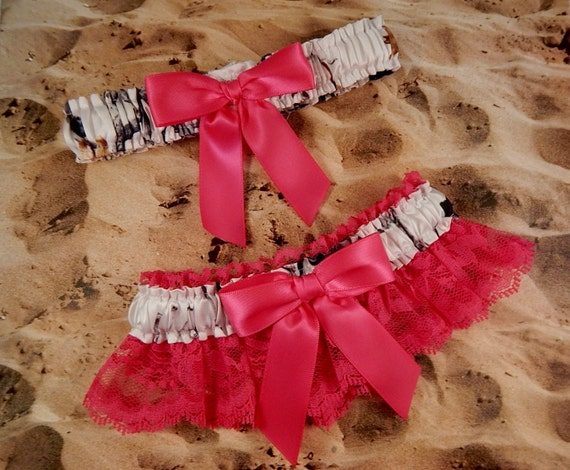 Snow camo camouflage hot pink ribbon hot pink lace bridal for Camo ribbon for wedding dress