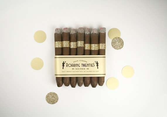 Great Gatsby Party Puff Cigars