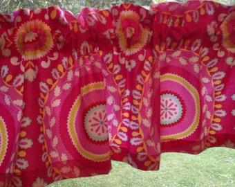 Valance using Kumari Garden Jeevan by Dena Designs