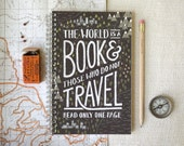 Spiral Notebook, Journal - Travel - witandwhistle