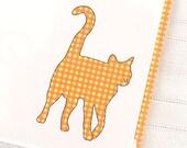 Orange Cat Boxed Notes