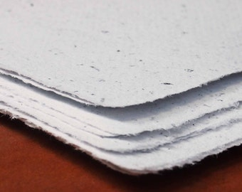 Handmade Recycled Paper - White Office Paper