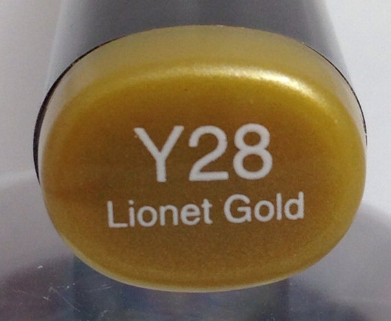 copic sketch marker y28 lionet gold 25th by cherylscache