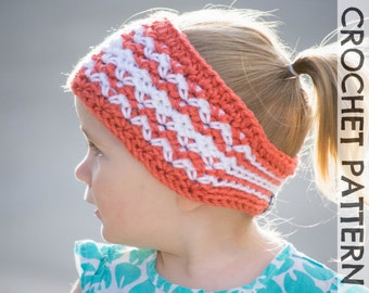 CROCHET PATTERN - Timberline Headband