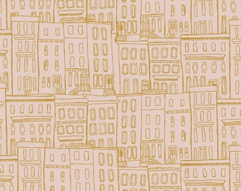SALE - Art Gallery - Gramercy Collection by Leah Duncan - Brownstone in Washed