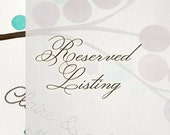 Custom Design Alterations - Reserved listing for Suzanne L