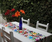 99 Dollar March Madness sale Multi Colored Otomi Runner